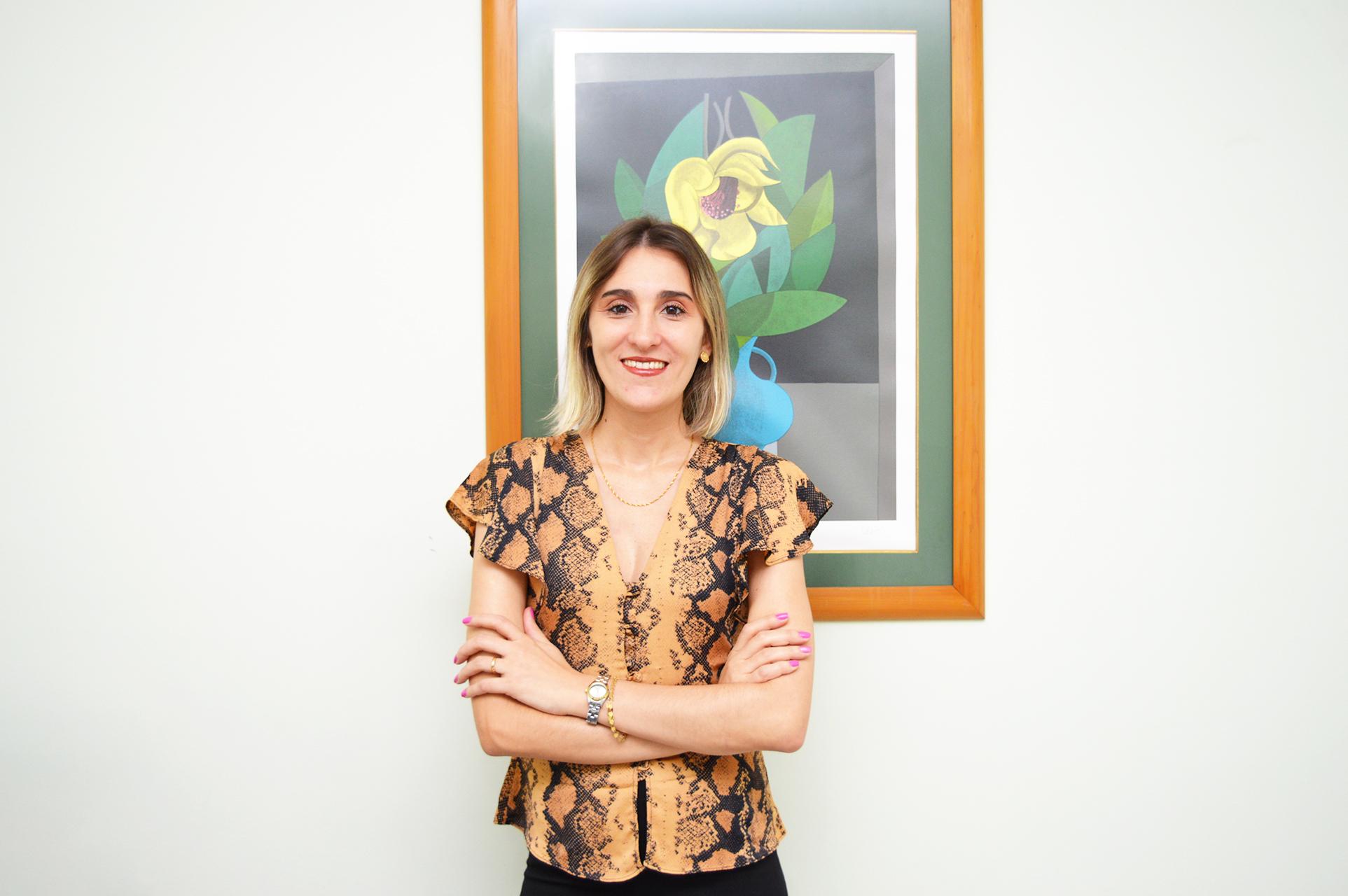 Psicóloga Priscila Aguiar